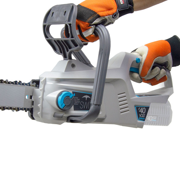 "Swift 40v Cordless Chainsaw 12"" with Battery & Charger"