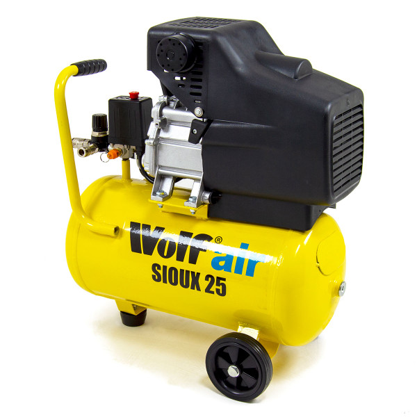 Wolf Sioux 25 Air Compressor 2.5HP, 9.6CFM