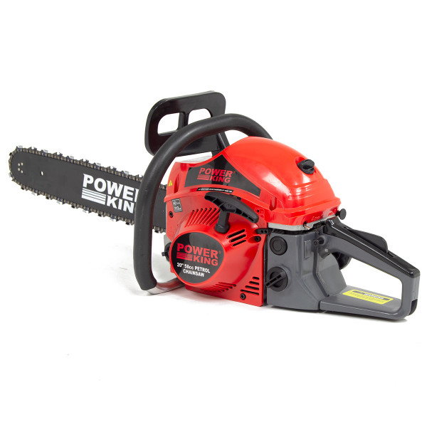 PowerKing 20'' Petrol Chainsaw 58cc with Easy Start