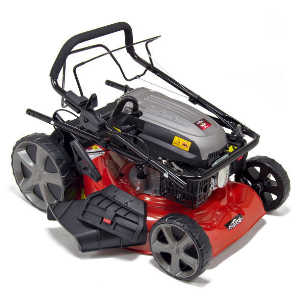 "Frisky Fox 20"" 4in1 Self Propelled 4 Stroke Petrol Lawn Mower"