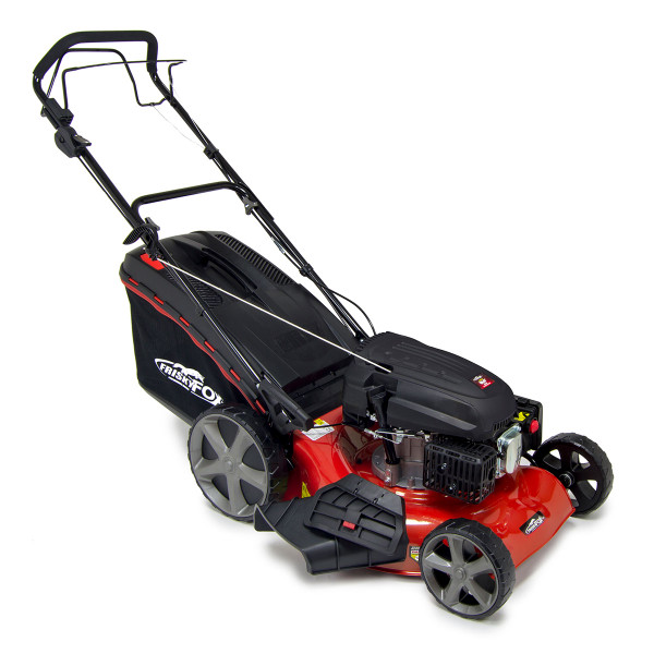 "Frisky Fox 20"" Quad-Cut 4in1 Self Propelled Petrol Lawn Mower"