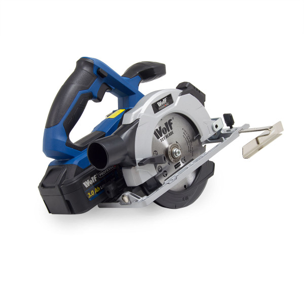 Wolf Professional 20v Circular Saw with Laser with Battery & Charger