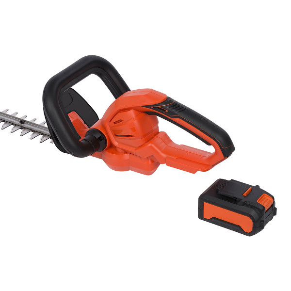 Powerplus Dual Power 40v Hedge Trimmer with Battery & Charger