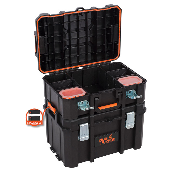 Powerplus Heavy Duty Medium Tool Box POWDPTB01