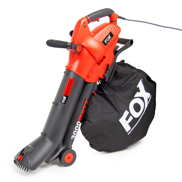 Fox Gulper 4in1 Garden Vacuum & Blower with Macerating Blades