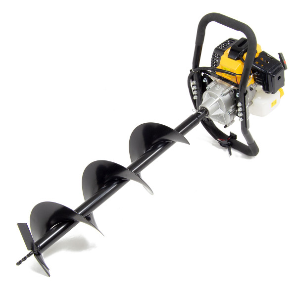 Wolf 52cc Petrol Earth Auger with Extensions