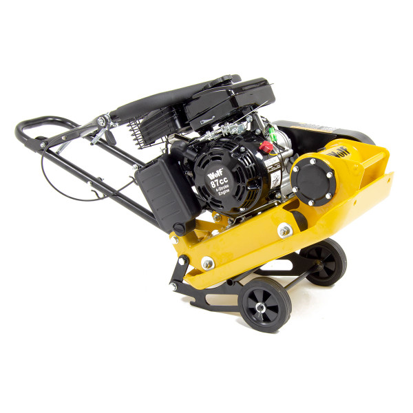 Wolf 8200N Petrol Powered Compactor with Wheels & Paving Pad