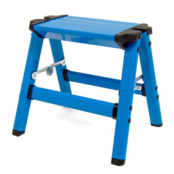 Wolf Tahiti Blue Folding Step Stool