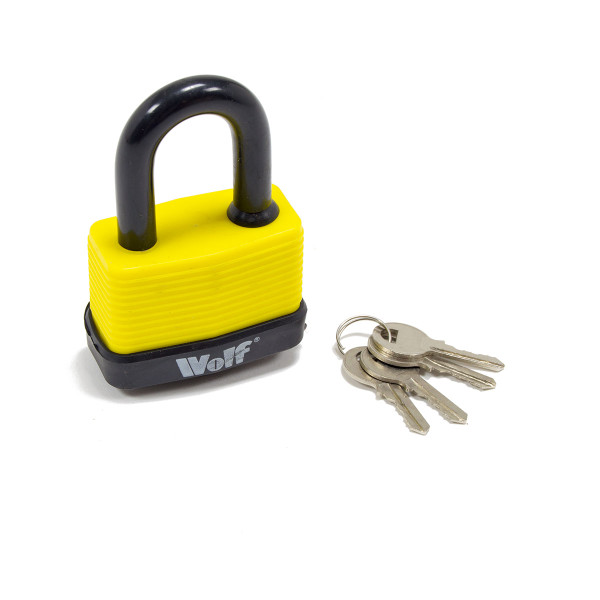 Wolf Heavy Duty 65mm Padlock - Pack of 6