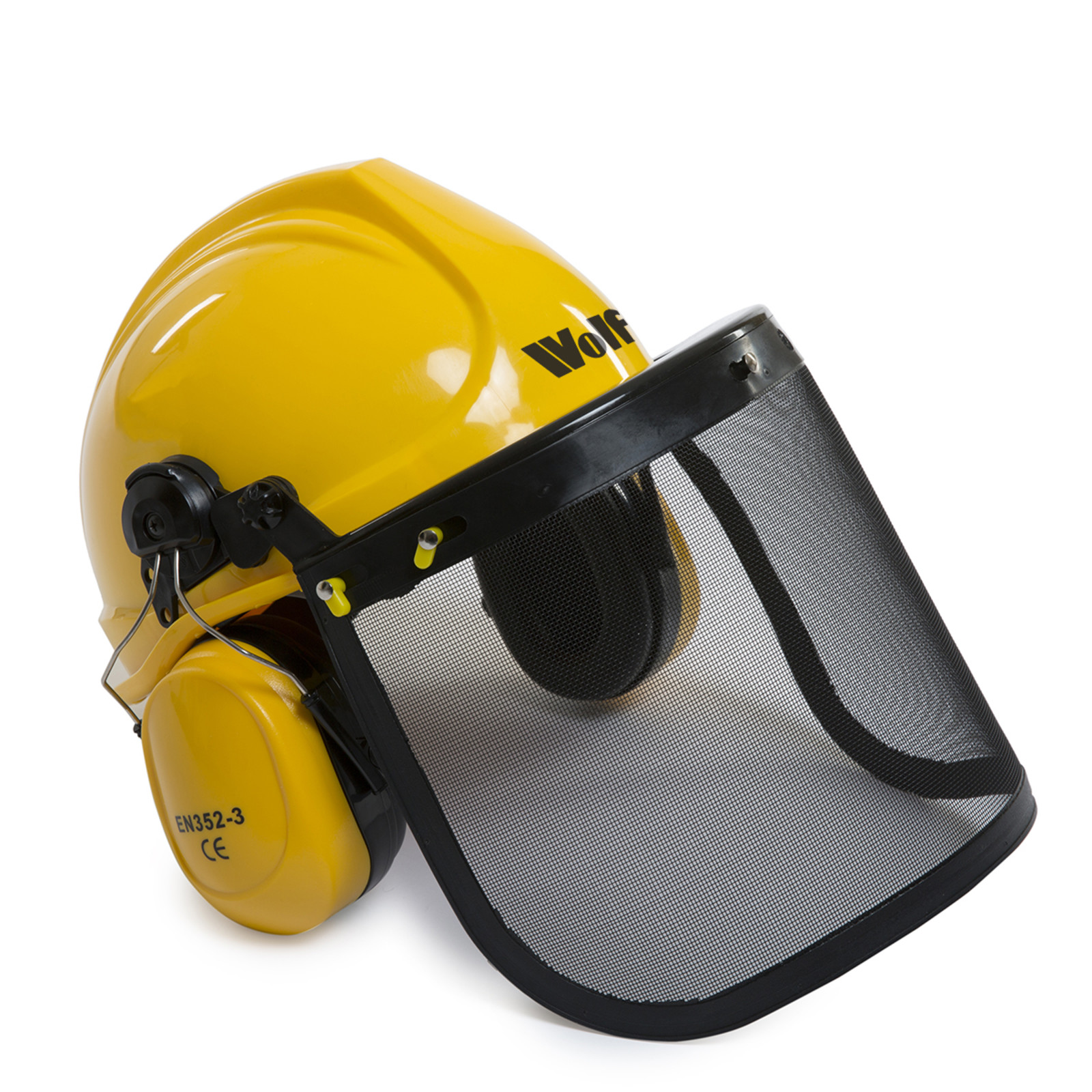 BMC 20'' Easy Start 55cc Chainsaw with 1 Ltr Chain Oil, 1 Ltr 2 Stroke Oil,  Bag & Safety Helmet