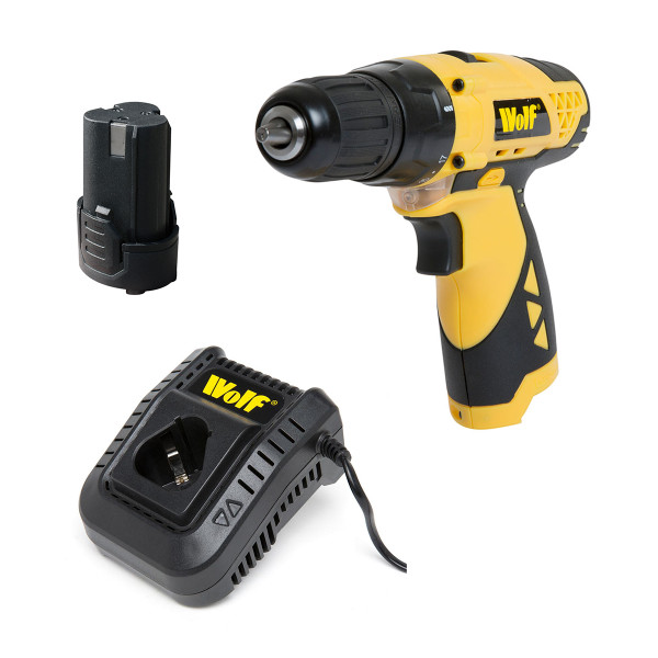 Wolf A+ 12v Drill Driver with Battery & Charger