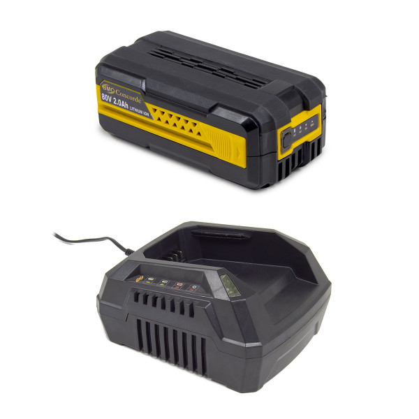BMC Concorde 80v 2.0A/Hr Battery & Charger