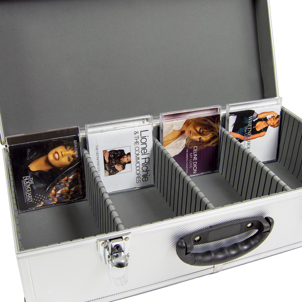 Wolf 80 CD Aluminium Storage Case