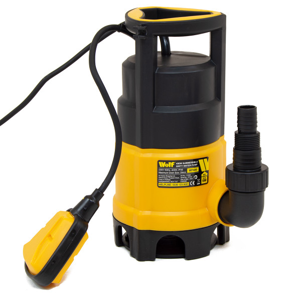 Wolf 400w Dirty & Clean Submersible Water Pump