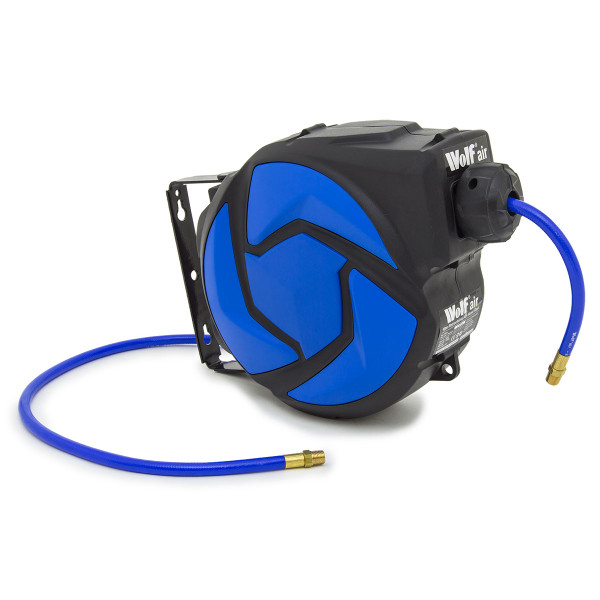 Wolf Sioux 25 Air Compressor with 10m Air Hose Reel