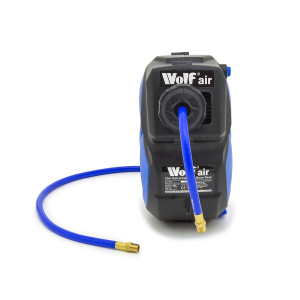 Wolf Sioux 50 Air Compressor with 10m Air Hose Reel