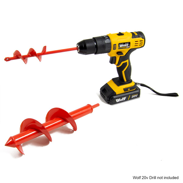 Wolf Set of 2 Soil Drills