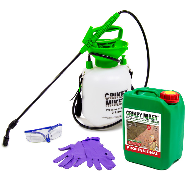 Crikey Mikey Outdoor Cleaning Wizard Professional with Frost Protection Cleaning Kit