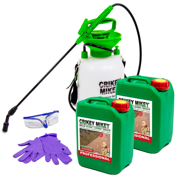 Crikey Mikey Outdoor Cleaning Wizard EXTRA Strong with Frost Protection 10L Cleaning Kit