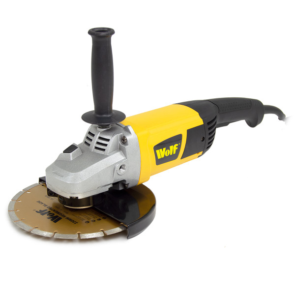 Wolf 230mm Angle Grinder 2300w