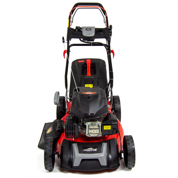 "Frisky Fox 21"" 196cc 4-stroke OHV Electric Start Lawn Mower with Fuchs Engine Oil"