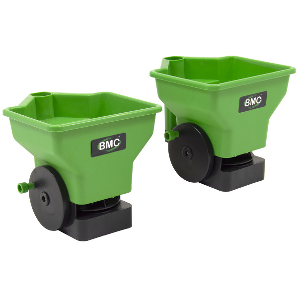 BMC 2pc Handheld Fertilizer and Seed Spreaders