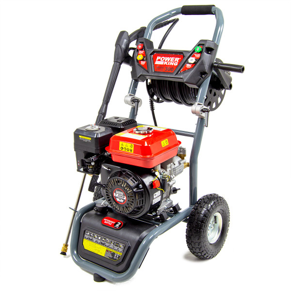 PowerKing Mega Blaster 300 Petrol Power Washer & Patio Cleaner