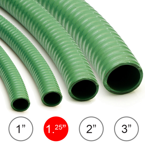 Wolf 1.25'' Reinforced Suction Hose - 10 Metres