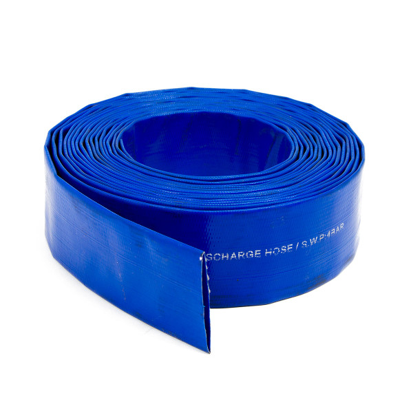 Wolf 2'' Layflat Water Delivery Hose - 10 Metres