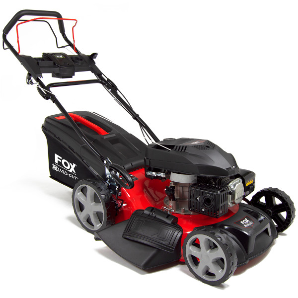 "Fox Quad-Cut 460 18"" Recoil Self Propelled Petrol Lawn Mower"